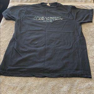 Adam Lambert band tour T shirt medium